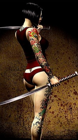 Tattoo_Samurai_Girl