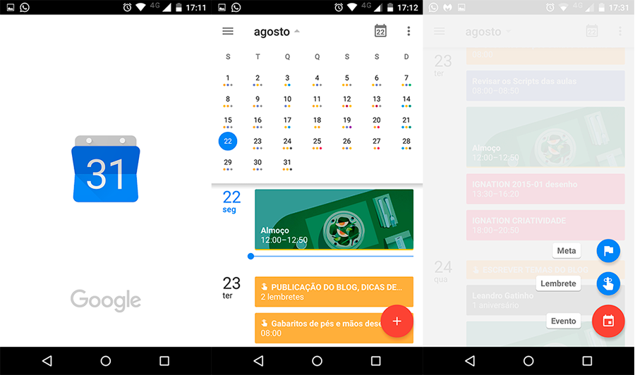 App agenda café com jasper designer