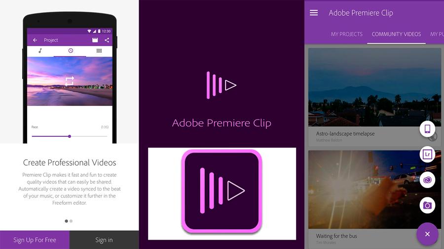 Adobe Clip App