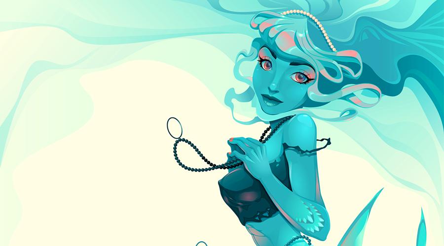 Marmaid ilustração